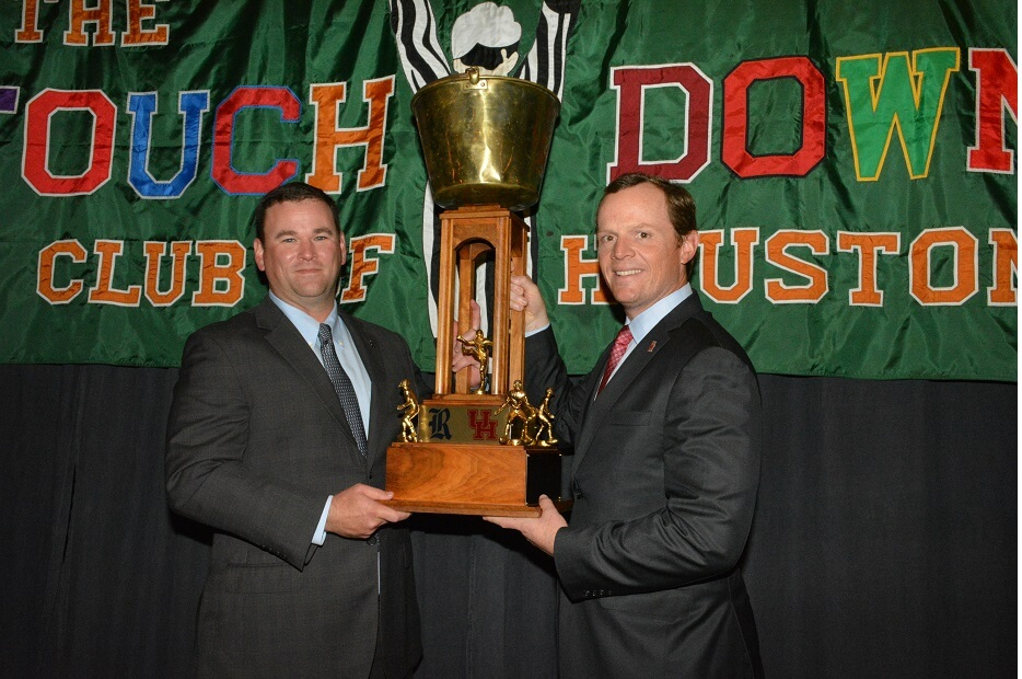 touchdownclub-2018 luncheon at the Bayou City Event Center