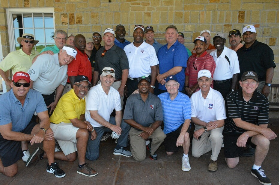 touchdownclub-Club's 50th anniversary golf tournament 2016