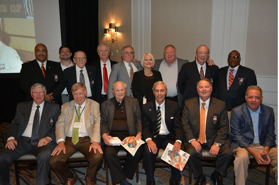 touchdownclub-TD Club Board members on 50th anniverary dinner