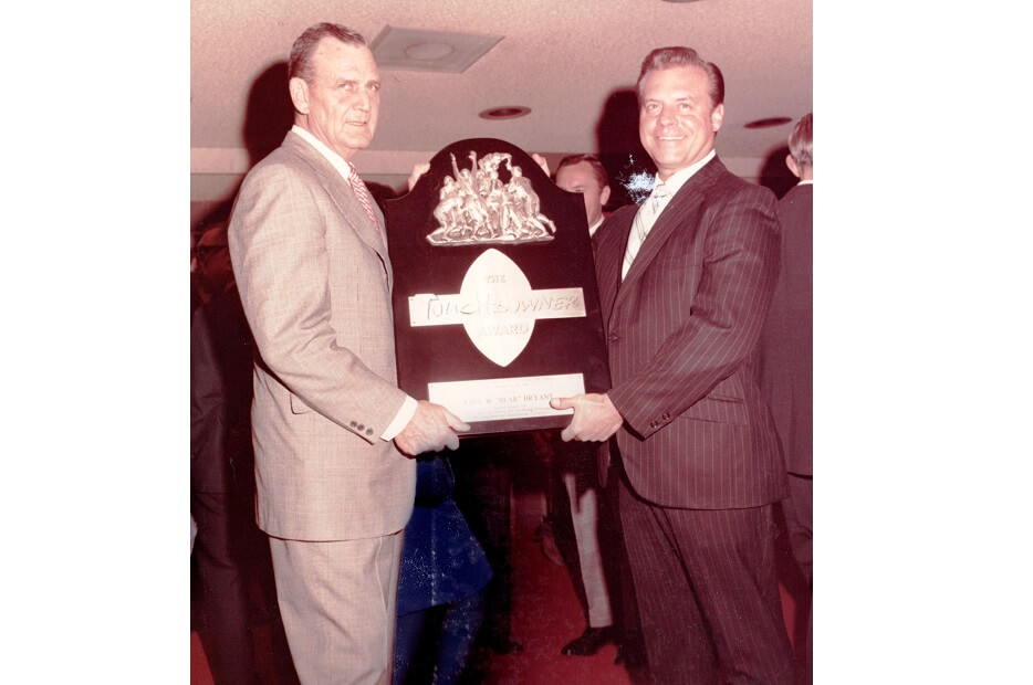 touchdownclub-Touchdowner of the Year 1971